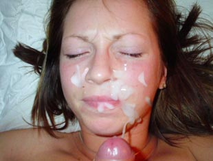 Long blowjob facial video